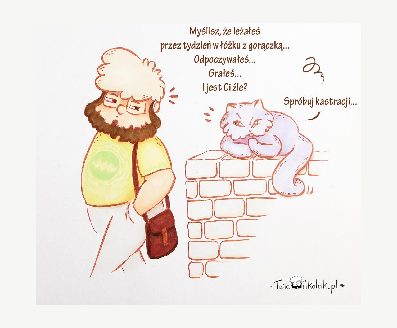 Kiedy kot głośnomyśli w Twojej głowie…